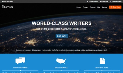 Essay Writing Services | Professional American Writers - Ultius
