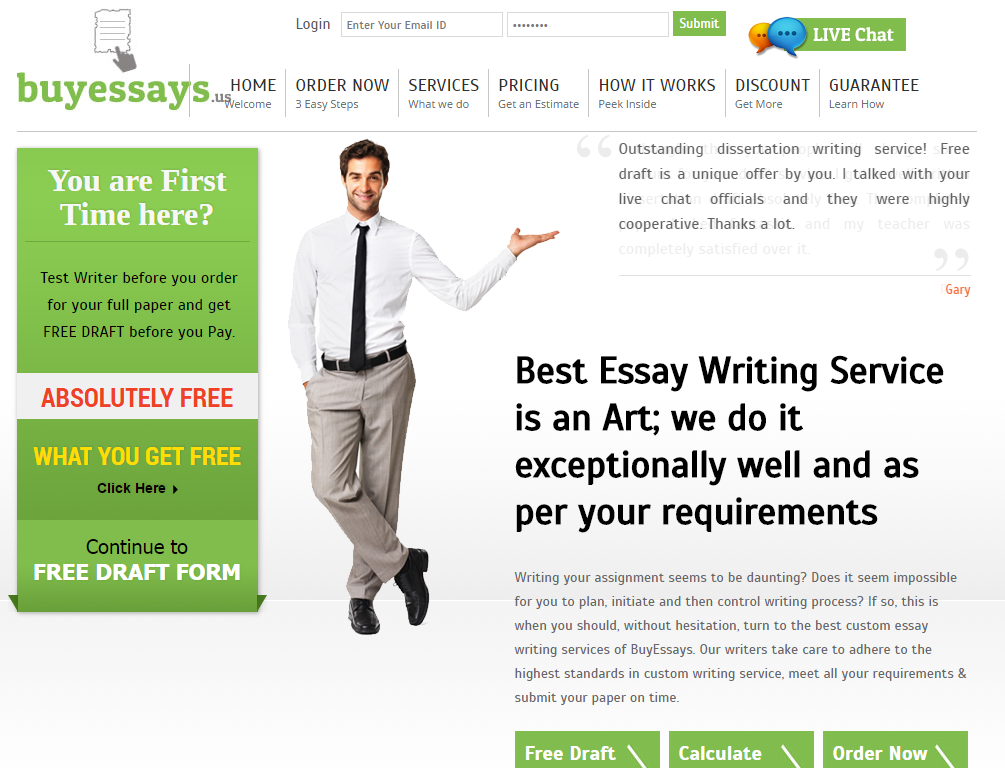 Us writing service in uk
