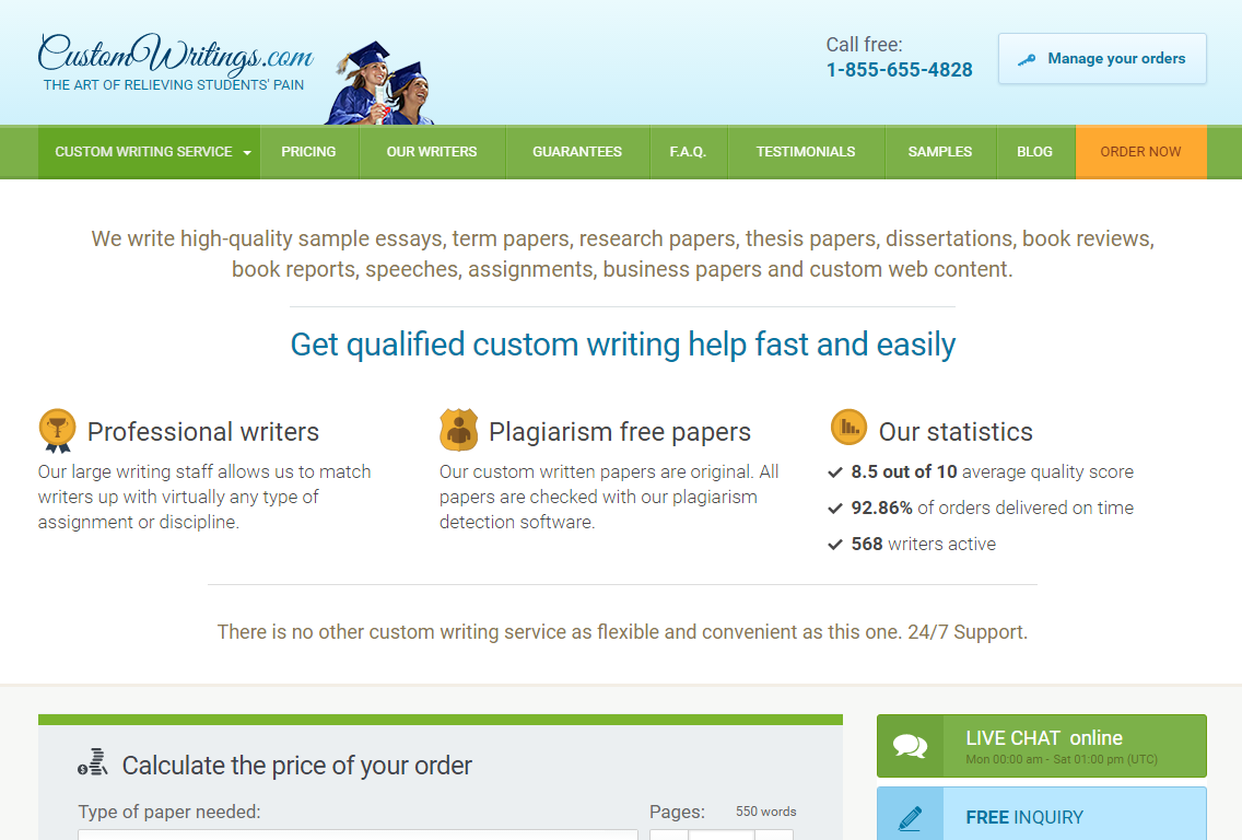 customwritings.com reviews Paper writing service customwritingscom review full list of top paper writing companies and services.