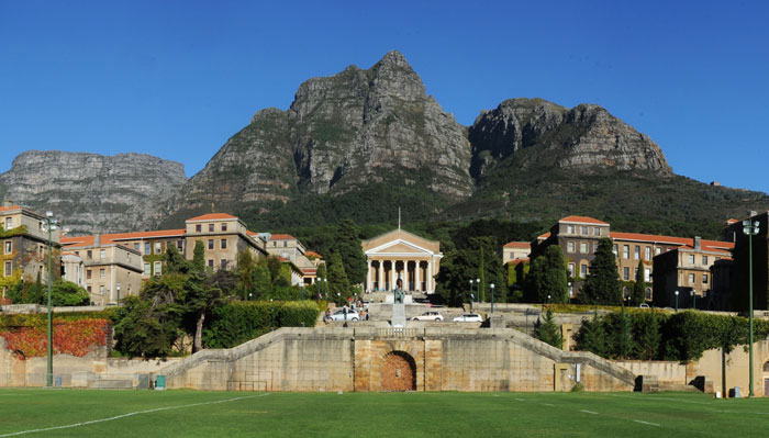 2.	University of Cape Town, South Africa